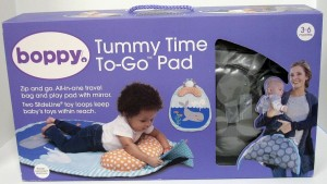 BOPPY Tummy Time Pillow Floor Mat Pad Baby Infant Toy Loops Whale Spout