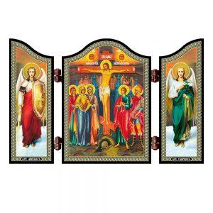 1428 Crucifixion christian icon Raspjatie Hristovo travel altar