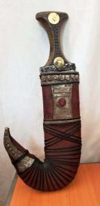 Antique yemen yaman knife-khanjar خنجر يماني handmade yemen Dagger jambiya