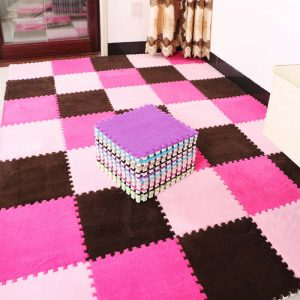 3 Pcs Baby Crawling Mat Kids Play Puzzle EVA Foam Non-slip Carpet Mats Floor Rug