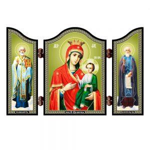 1411 Mother of Iviron christian icon Iverskaya Bogorodica