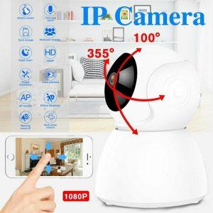 1080P Wireless Home Security HD Camera CCTV Surveillance Baby/Pet Monitor Camera