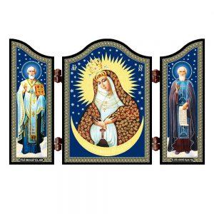 1451 Christian icon of the Merciful Mother of God Ostrobramskaya altar