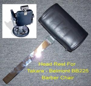 Takara Belmont BB-225 Elegance Barber Chair Headrest - Brand New