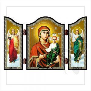 1446 GM of Smolensk Christian icon Smolenskaya Ikona travel altar gift