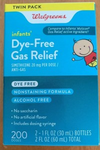 Walgreens Infants' Dye-Free Gas ReliefTwin Pack 200 Doses Exp 4/20 (F)