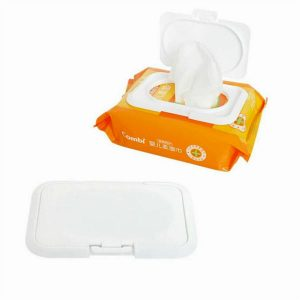 1pc Reusable Baby Wet Paper Wipes Lid Tissue Box Wet Paper lid No Adhesive