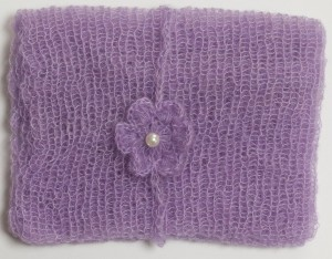 Mohair Newborn Wrap and Matching Headband-10 Colors to Choose From-Photo Prop