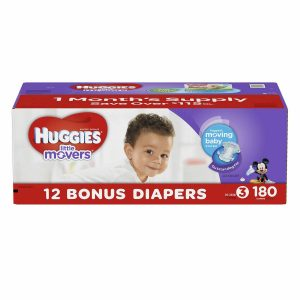 Huggies Little Movers Diapers Size 3, 4, 5, 6 PICK SIZE & QUANTITY