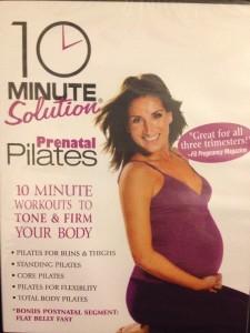 10 Minute Solution: Prenatal Pilates (DVD, 2007) - Pregnancy - Brand New!