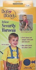 Deluxe Security Harness By Baby Buddy Color: NAVY New in Box - Children/Toddler